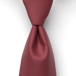 Wine-Merlot Solid Pre-Tied Tie