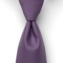Eggplant Solid Pre-Tied Tie