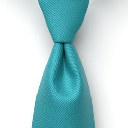 Aqua Marine Solid Pre-Tied Tie