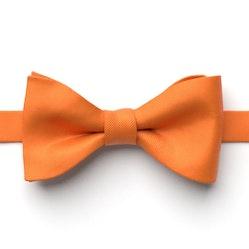 Tangerine Pre-Tied Bow Tie