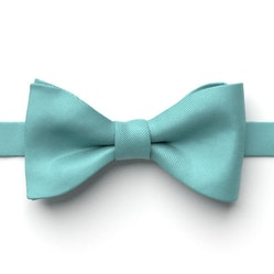 Turquoise Pre-Tied Bow Tie