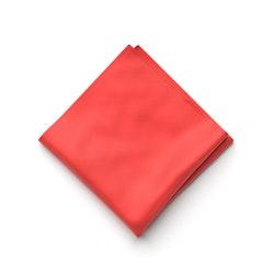 Ferrari Red Pocket Square