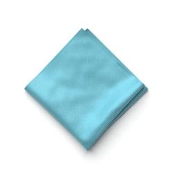 Blue Ice Pocket Square