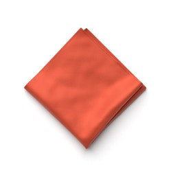 Burnt Orange Pocket Square