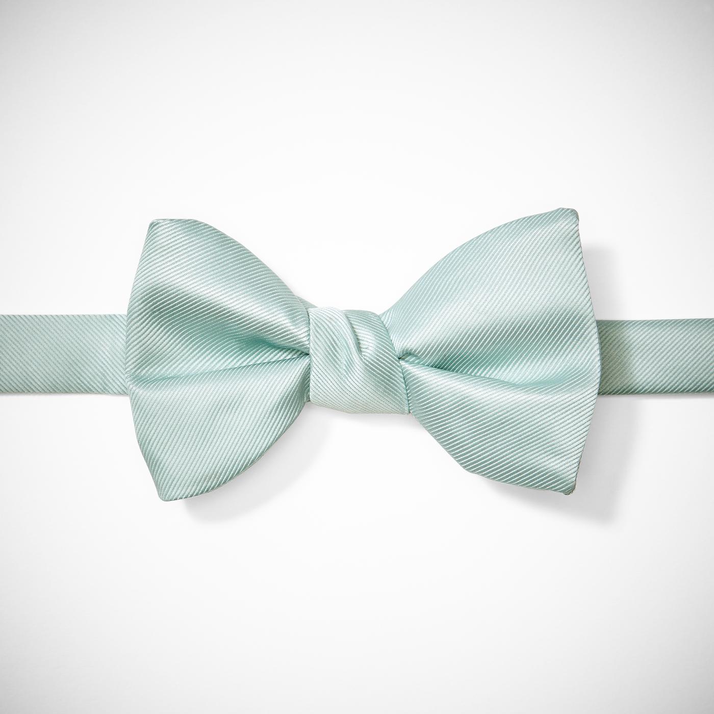 Mint Pre-Tied Bow Tie