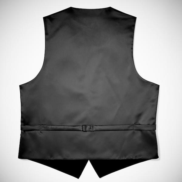 Black Paisley Vest