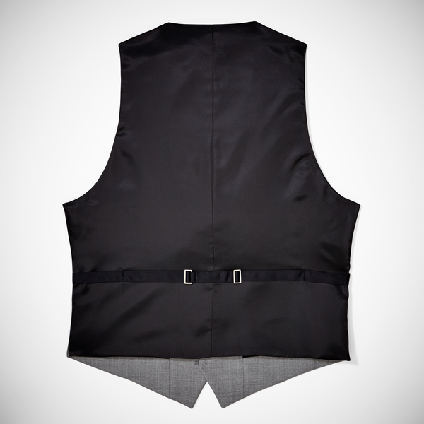 Light Gray Tailored Tux Vest