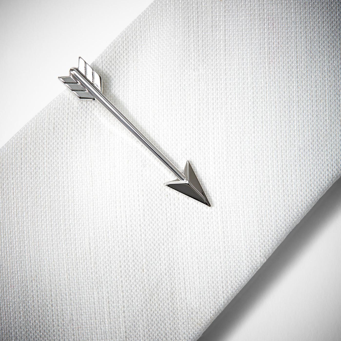 Cupid Arrow Tie Bar