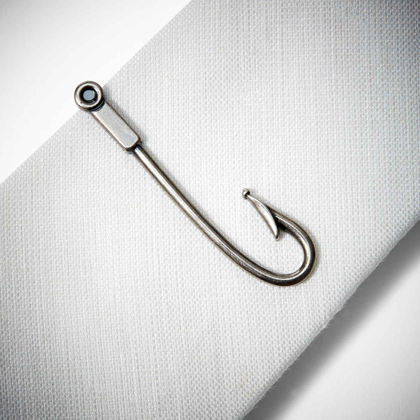 9e1118ba4c7b Fish Hook Tie Bar | Generation Tux