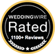 Wedding Wire 1100+ reviews.