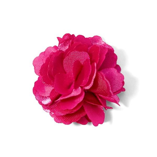 Begonia Carnation Lapel Pin