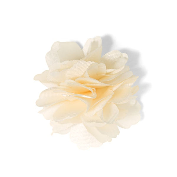 Ivory Carnation Lapel Pin