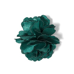 Jade Carnation Lapel Pin