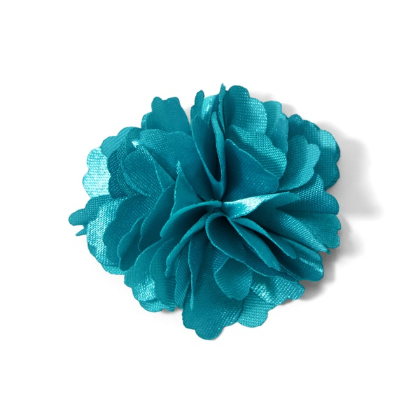 Aqua Carnation Lapel Pin
