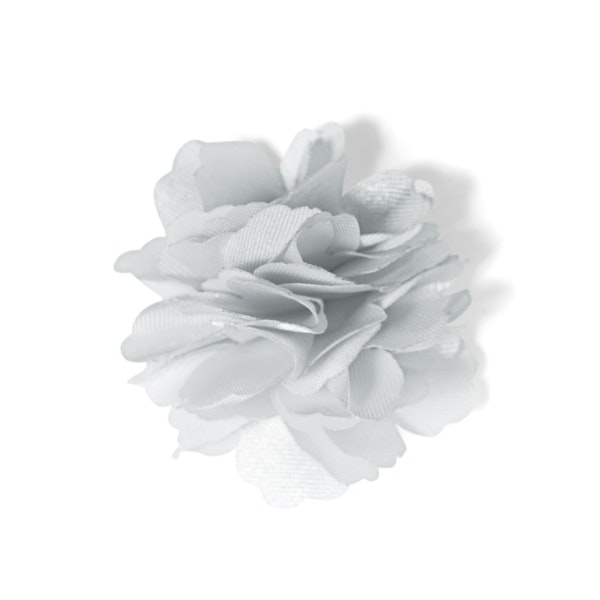 Platinum Carnation Lapel Pin