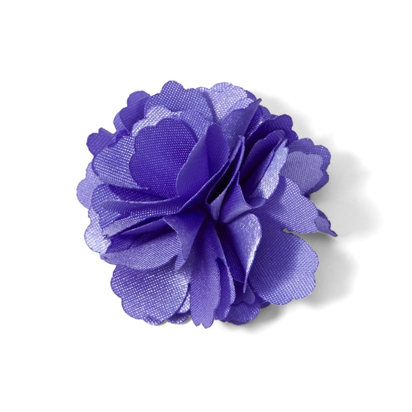 Viola Carnation Lapel Pin