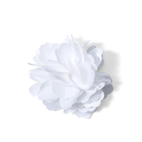 White Carnation Lapel Pin