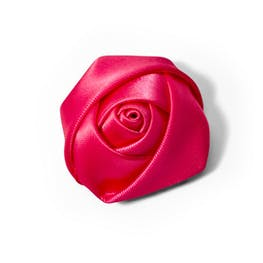 Begonia Rose Lapel Pin