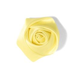 Canary Rose Lapel Pin