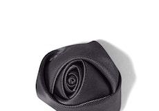 Pewter Rose Lapel Pin