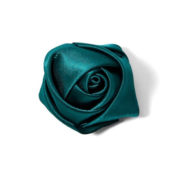 Jade Rose Lapel Pin