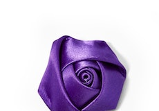 Viola Rose Lapel Pin