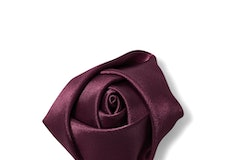 Sangria Rose Lapel Pin