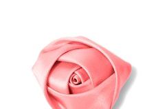 Coral Reef Rose Lapel Pin
