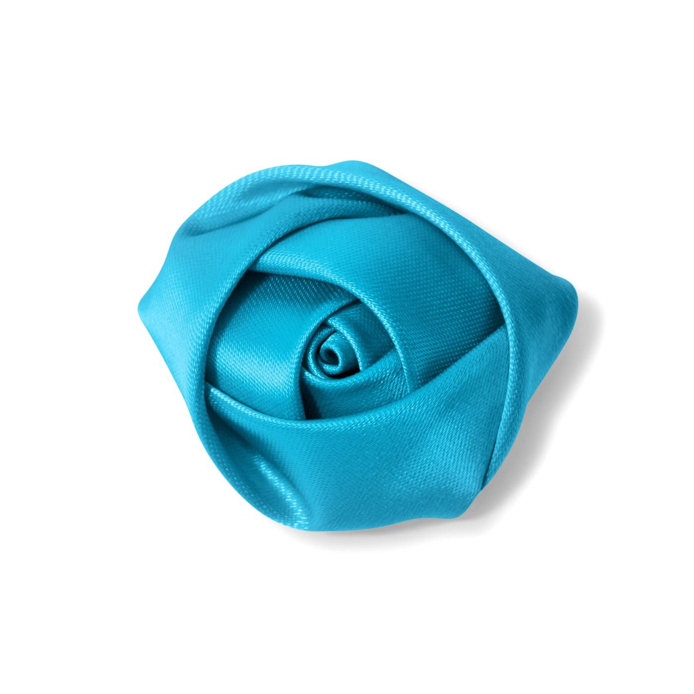 Pacific Blue Rose Lapel Pin