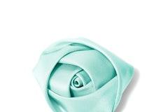 Tiffany Blue Rose Lapel Pin