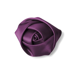Plum Rose Lapel Pin