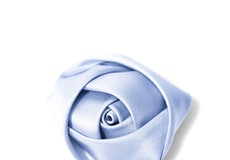 Ice Blue Rose Lapel Pin