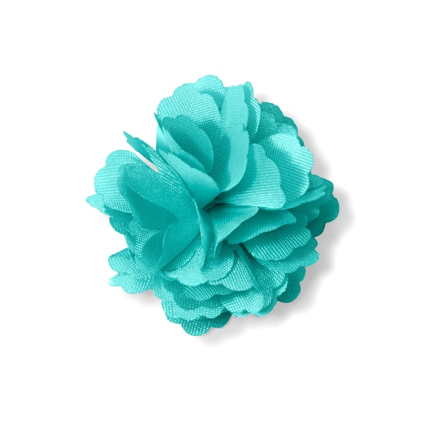 Tiffany Blue Carnation Lapel Pin