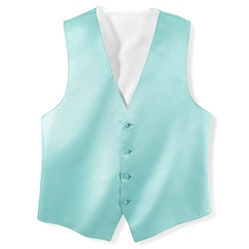 Tiffany Blue Vest