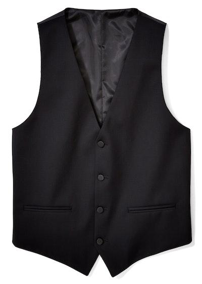 Black Tux Vest