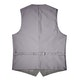 Gray Sharkskin Suit Vest