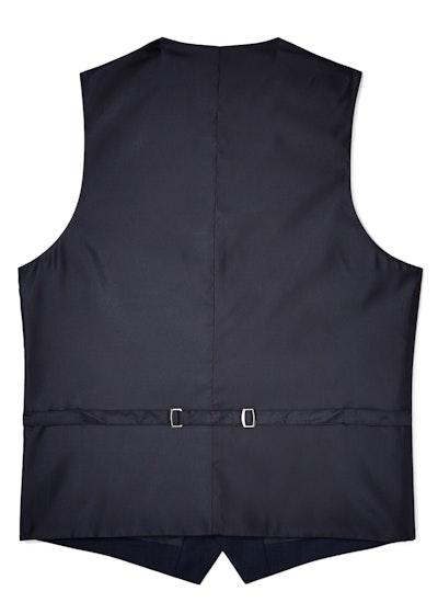Navy Blue Suit Vest