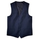 Navy Blue Suit Vest