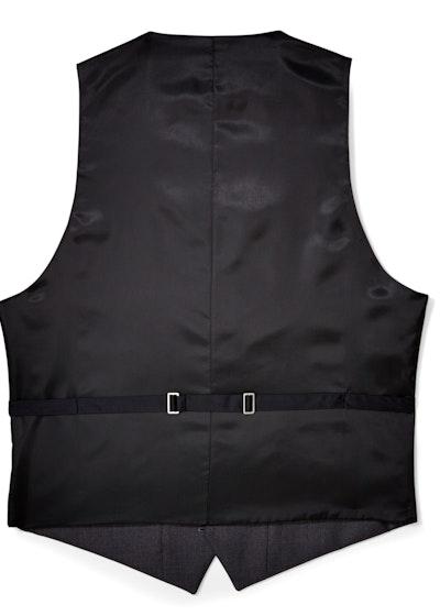Charcoal Tux Vest