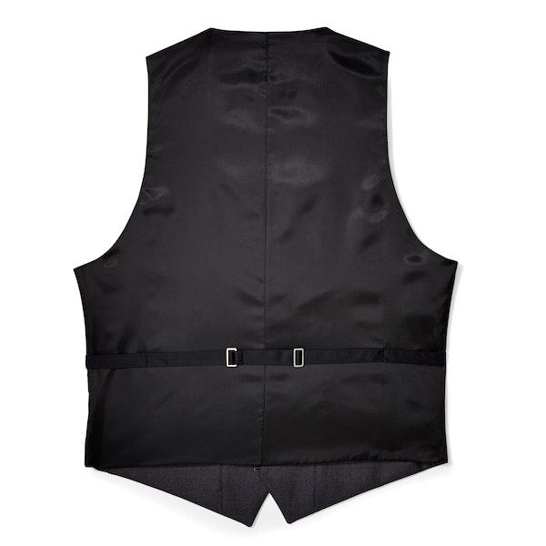 Charcoal Tailored Tux Vest