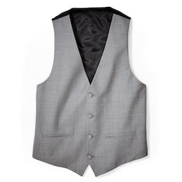 Light Gray Tux Vest