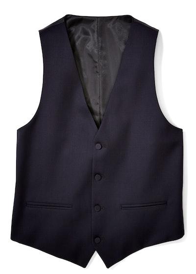 Midnight Blue Tux Vest