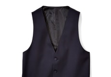 Midnight Blue Tux Vest