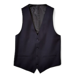 Midnight Blue Tailored Tux Vest