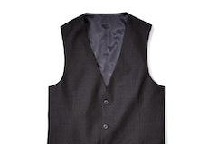 Charcoal Gray Suit Vest