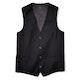 Black Tailored Suit Vest