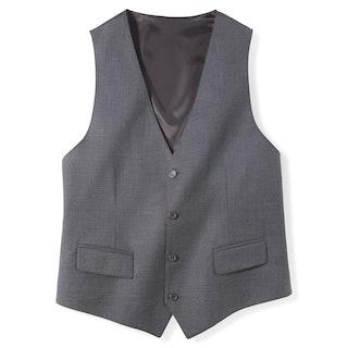 Iron Gray Tailored Suit Vest