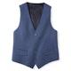 Mystic Blue Suit Vest