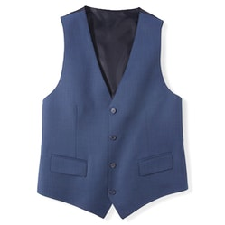 Tailored Mystic Blue Suit Vest