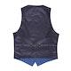 Mystic Blue Edge Lapel Tux Vest